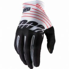 New 100% Celium Glove Motocross Black/White S M L XL